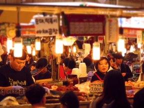South Korea - Seoul - Gwangjang market