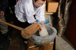 experience visiting a local farmer and mochi rice cake making in kyoto
