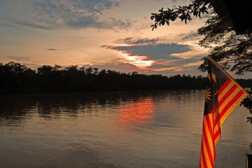 Kinabatangan River Safari - Sunset