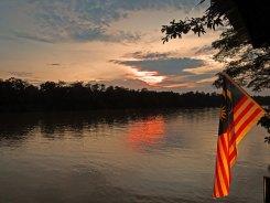 Kinabatangan River Safari - Sunset