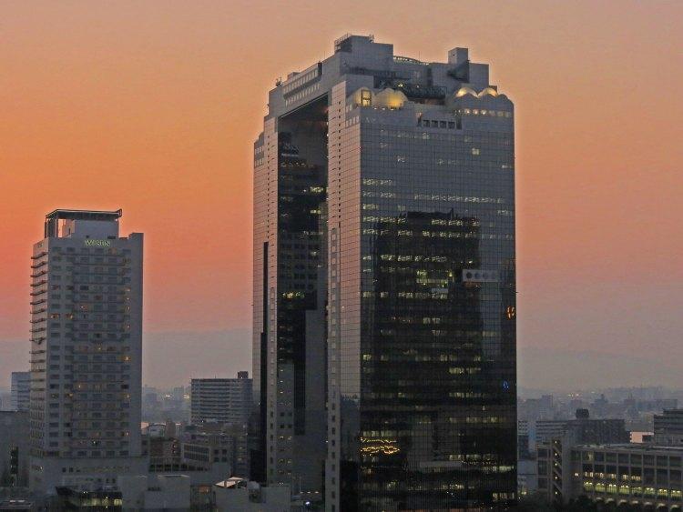Sunset From Osaka Station