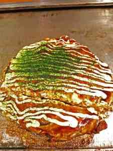 Japan Food okonomiyaki