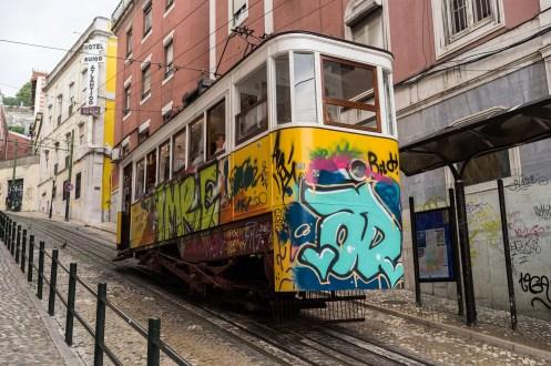 Lisbon Funicular Portugal