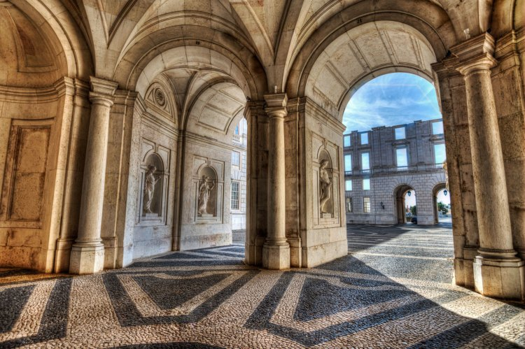 Palacio Ajuda Lisbon, Portugal