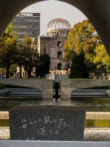 A-tomb dome Hiroshima, Japan
