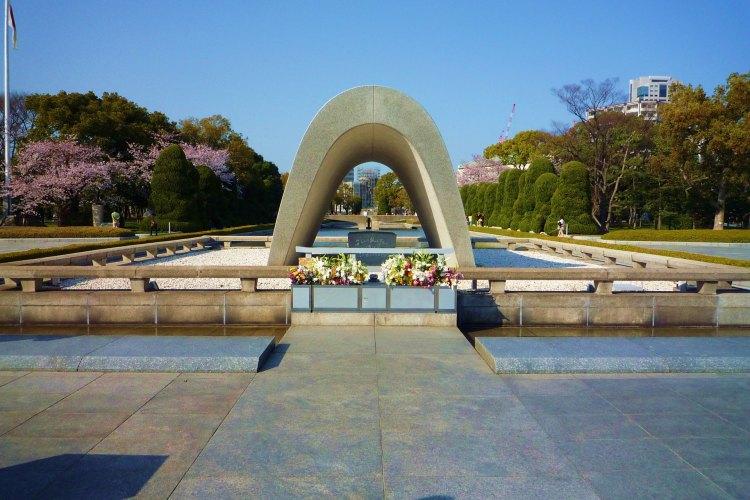 Memorial Cenotaph Hiroshima, Japan