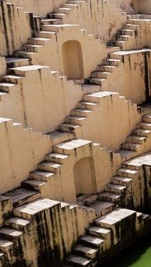 Panna Meena ka Kund stepwell Jaipur, India