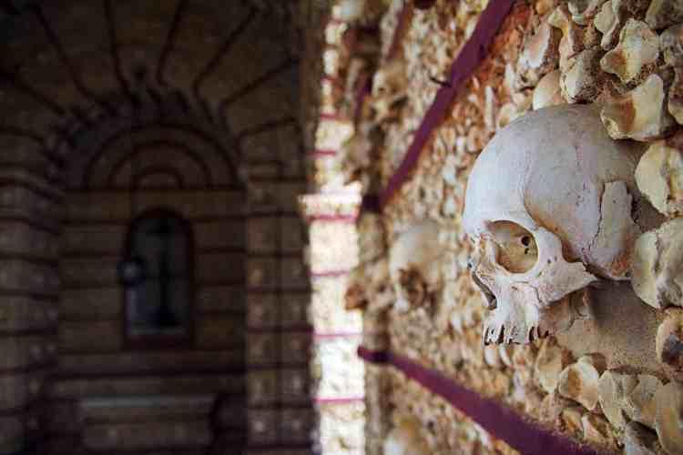 Faro bone chapel, Portugal