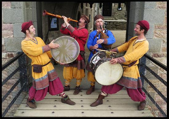 Groupe de musique médiévale Waraok