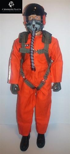 1/5~1/6 Modern Jet RC Pilot Figure (Orange)