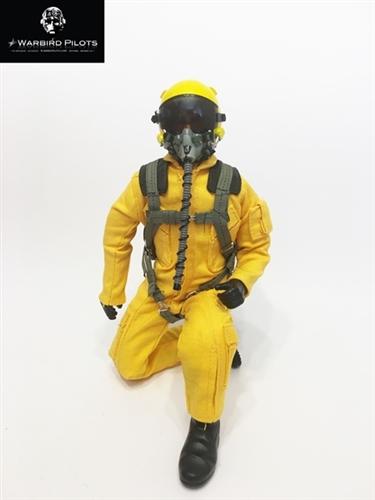 1/5~1/6 Modern Jet RC Pilot Figure (Yellow)
