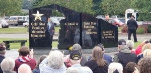 Gold Star Families memorial Monument Forks