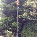 Victorian Lamp post installation in Mansfield
