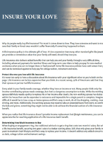 Reasons to Buy Financial Insurance