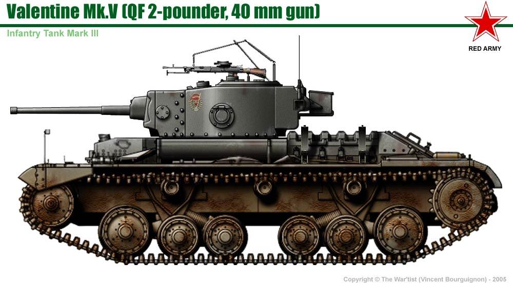 Infantry Tank MkIII Valentine MkV