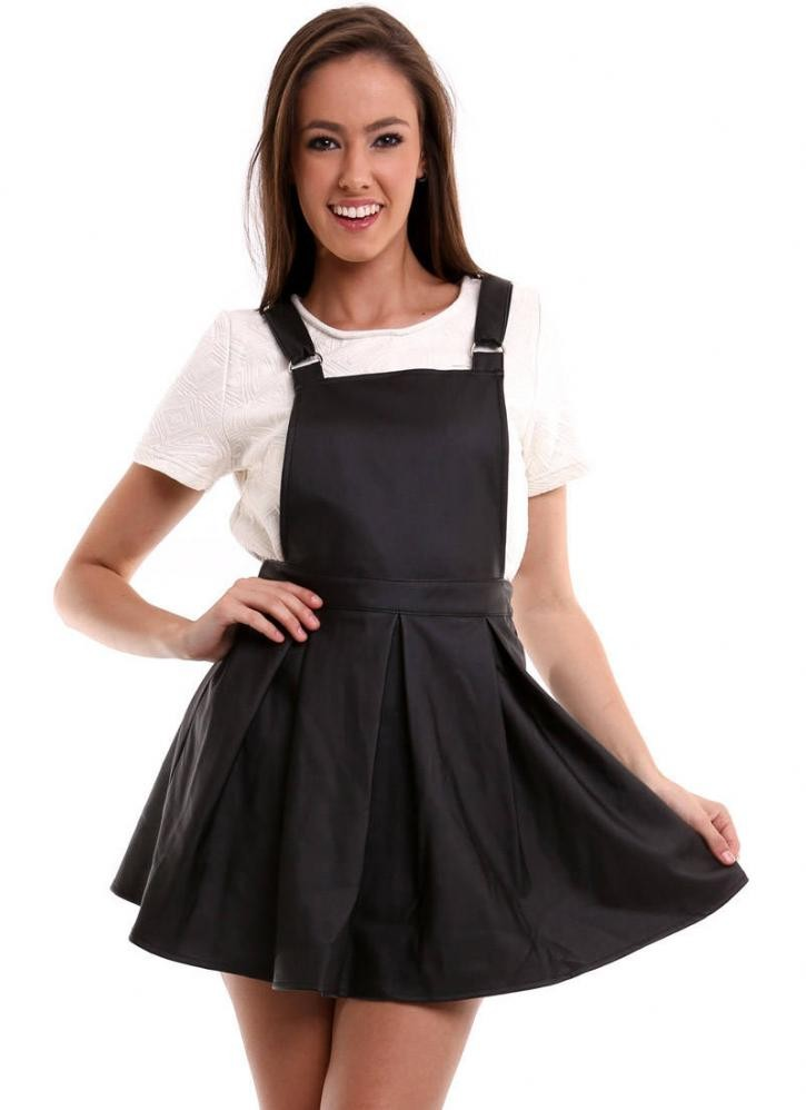 Black Overall Dress | WardrobeMag.com