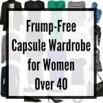 Capsule Wardrobe: No Fashion Victim, No Frump