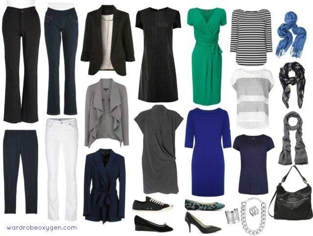 Capsule Wardrobe over 50 style