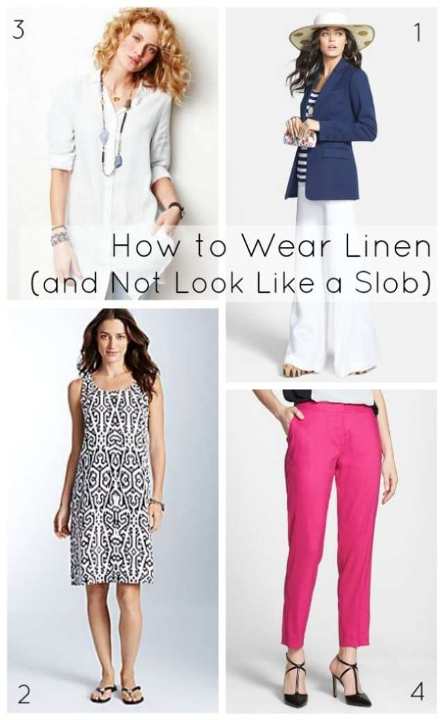 how to style linen summer