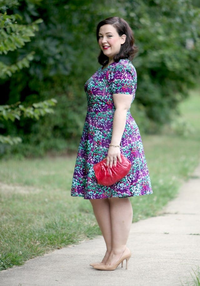 gwynnie bee spruce sage dress review
