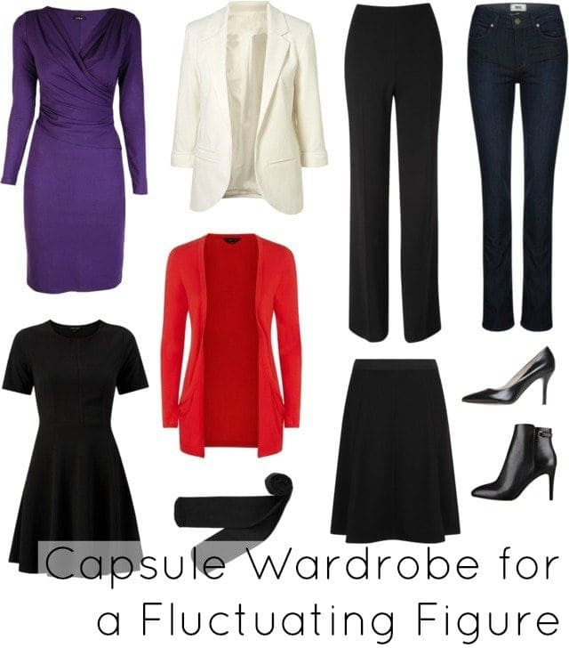 What to wear when you temporarily gain weight: A Capsule wardrobe for the fluctuating figure