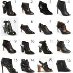 Badass Black Booties for Spring (and Now!)