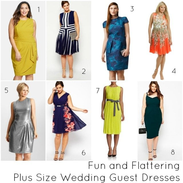 What to Wear: Plus Size Wedding Guest Dresses