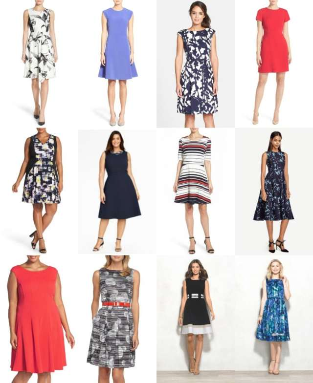 fit and flare dresses for spring and summer - wardrobe oxygen