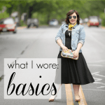 What I Wore: Basics