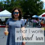 What I Wore: Weekend Errand Run
