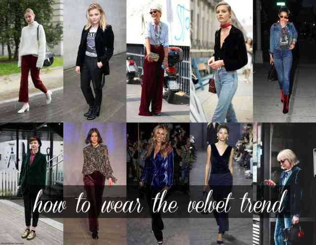 Wardrobe Oxygen: How to wear the velvet trend
