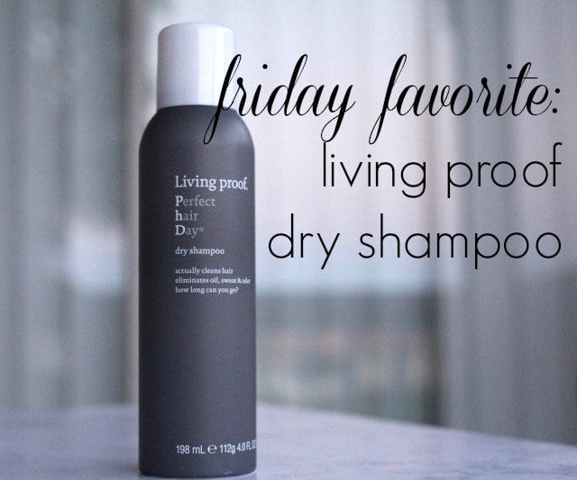 Wardrobe Oxygen: Living Proof Dry Shampoo Review
