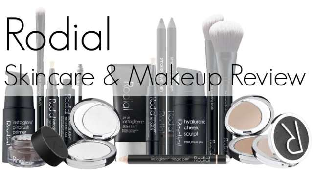 rodial skincare makeup review
