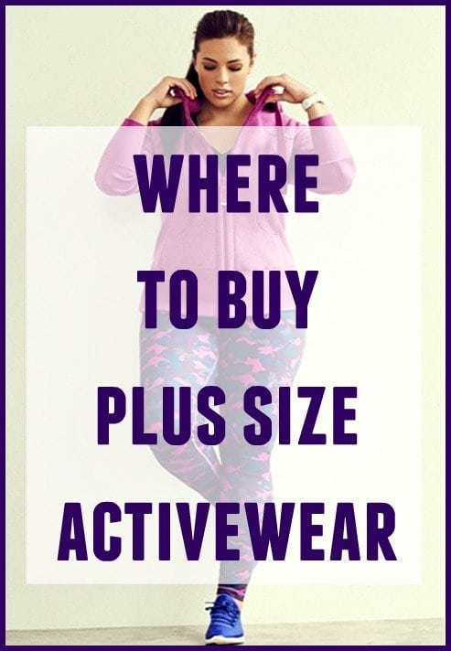 where to buy plus size activewear - wardrobe oxygen