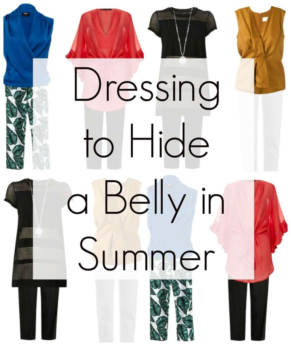 Dressing to Disguise a Belly in Summer