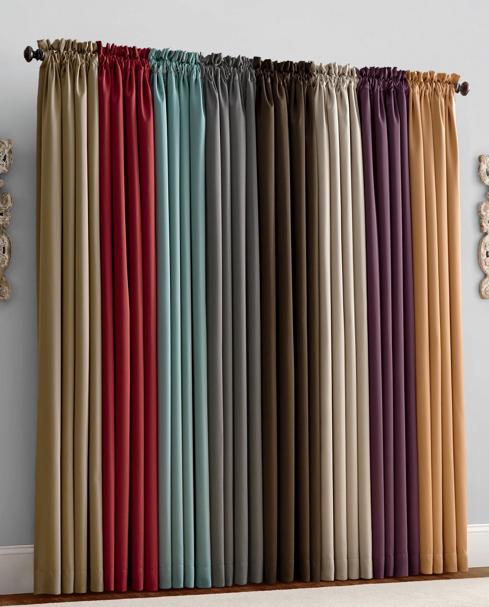 thermal curtains drapes panels