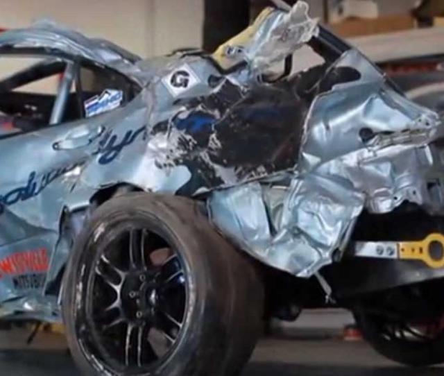 Jeremy Foley And Yuri Kouznetsov Thankful For Recaro Seats In 2012 Pikes Peak Racing Crash