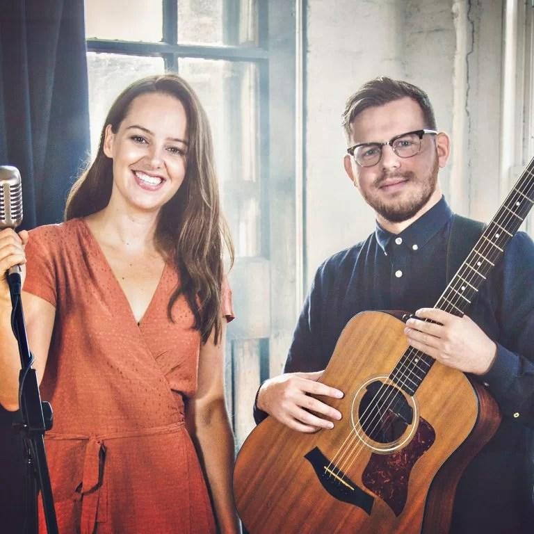 Photo of Ward Smith, London based acoustic duo