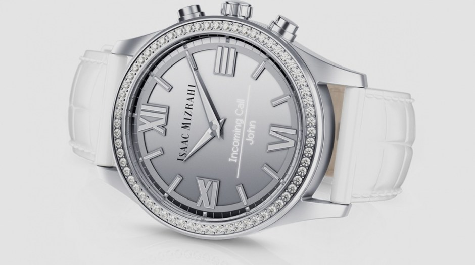 HP shows off blingy new smartwatch