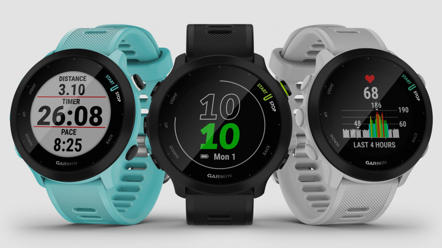 Garmin launches Forerunner 55 and first LTE watch