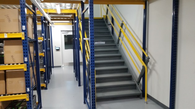 2 Level Rack Supported Mezzanine