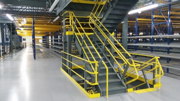 3 Level U Shape Stairway