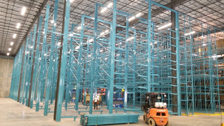 36' High Furniture Cantilever Rack