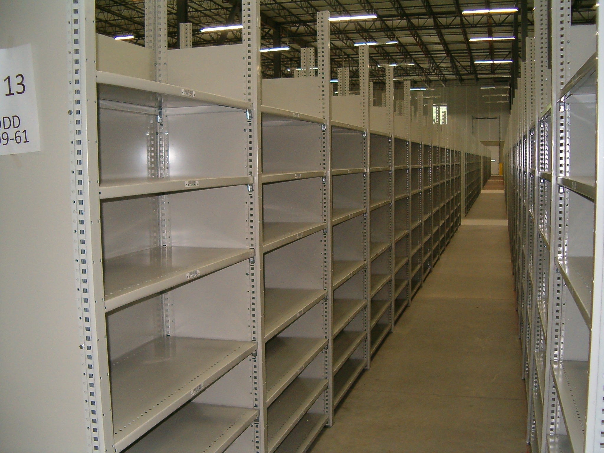 Shelving Warehouse Design