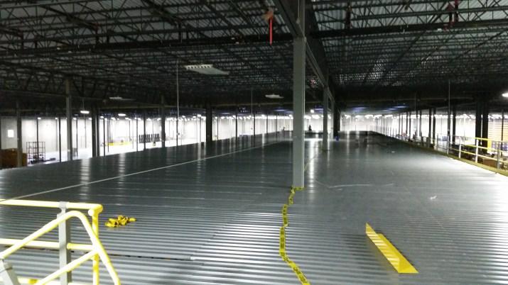Deck Over (Dance Floor) Rack Supported Mezzanine