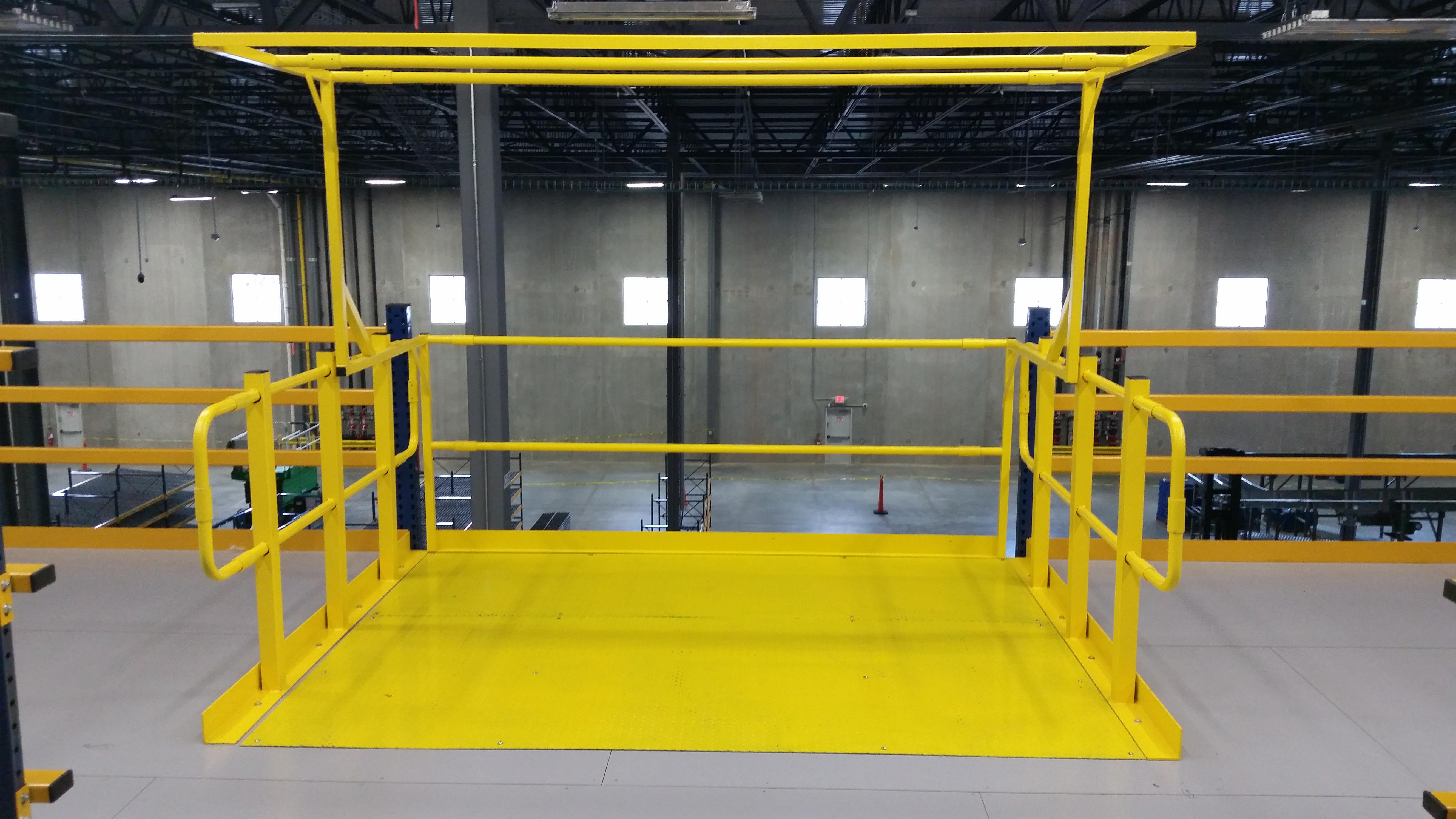 Safety gates warehouse design