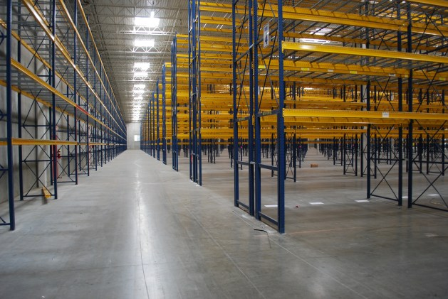 Main Ailse High Bay Pallet Storage