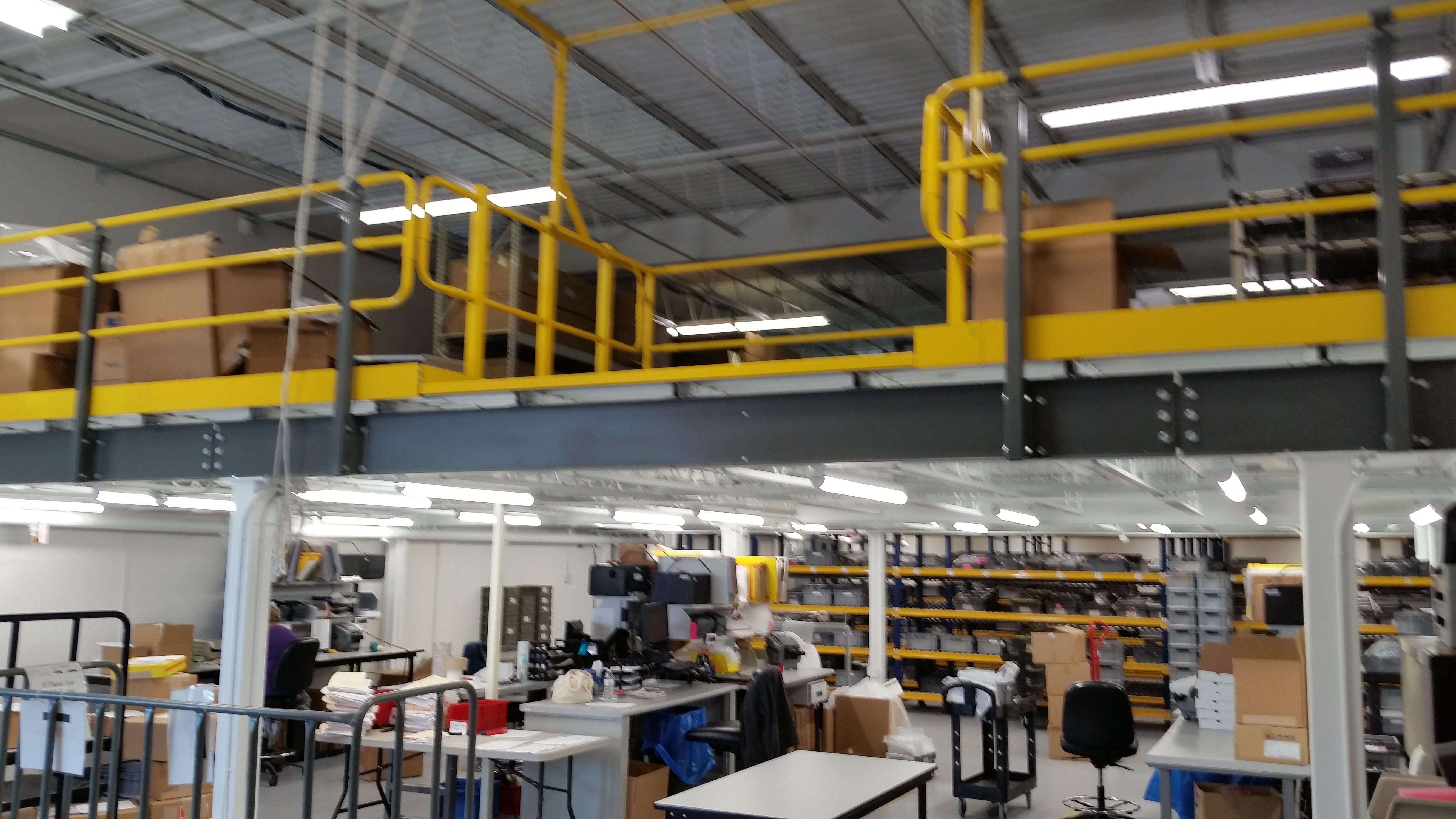 Mezzanine Area mezzanines | warehouse design