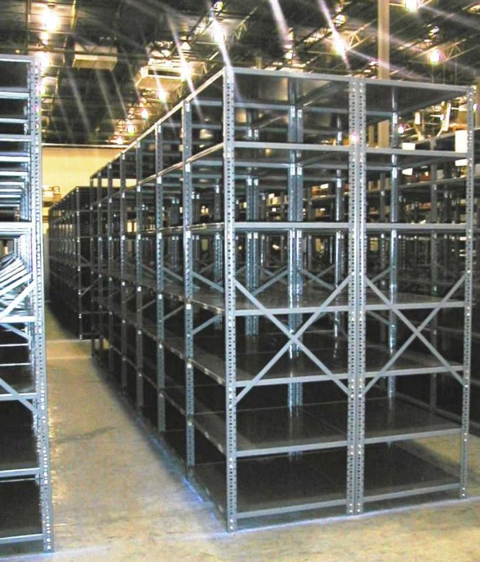 Open Metal Shelving (2)