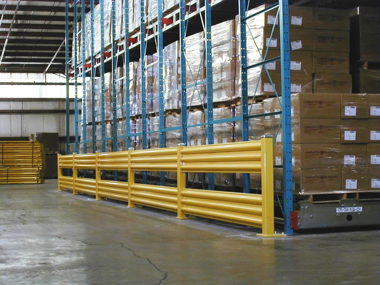 Guard railing warehouse design